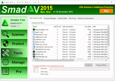 Download SmadAV 2016 Rev. 11.0.4 Setup exe