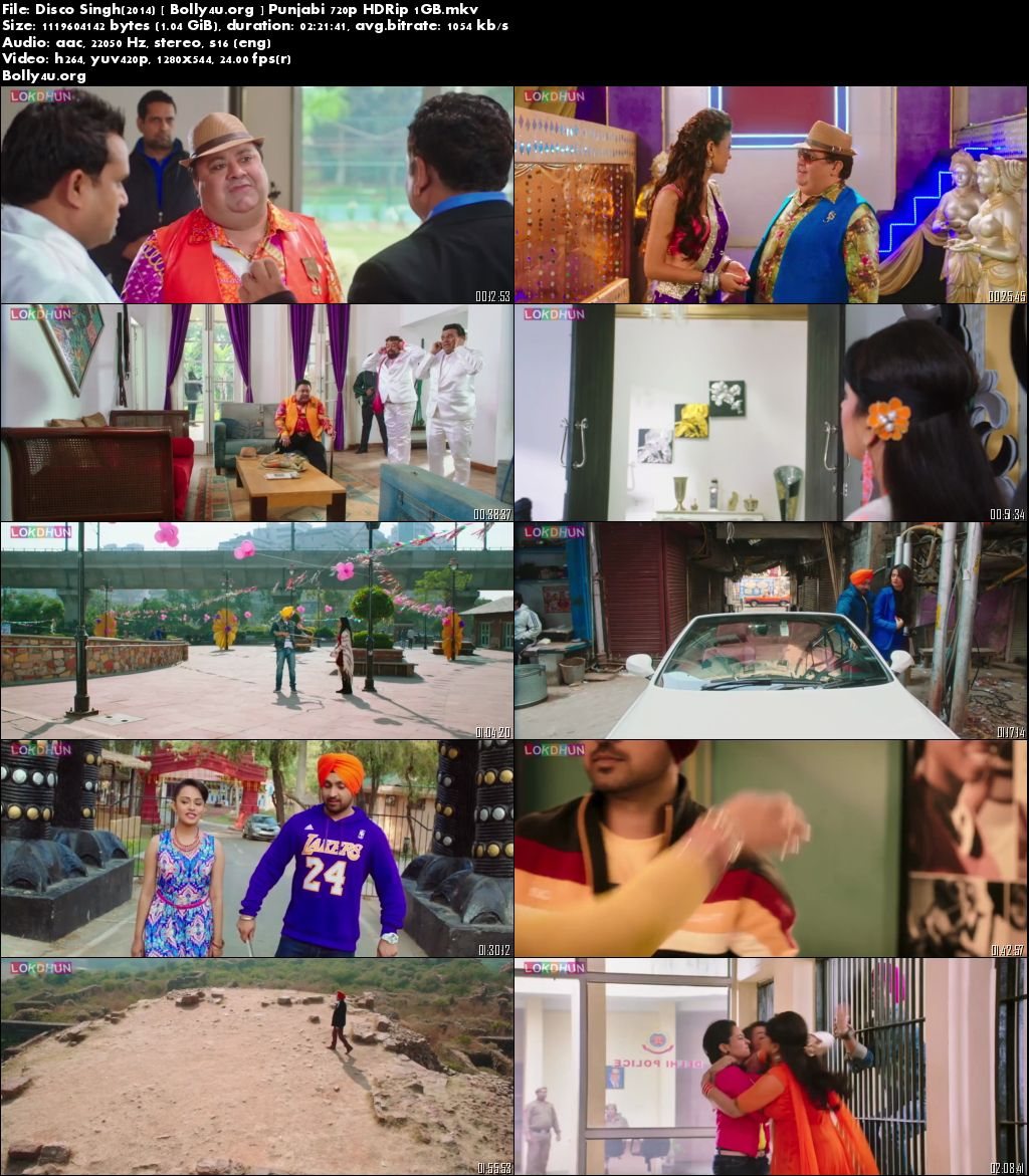 Disco Singh 2014 HDRip 400Mb Punjabi Movie 480p Download