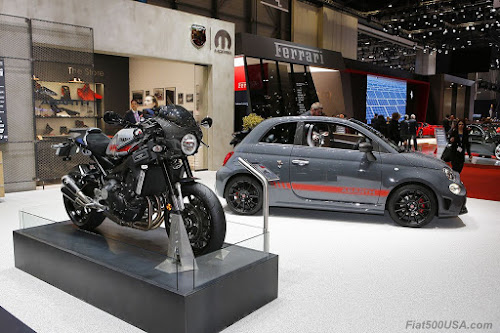 Abarth 695 Yamaha XSR and Bike