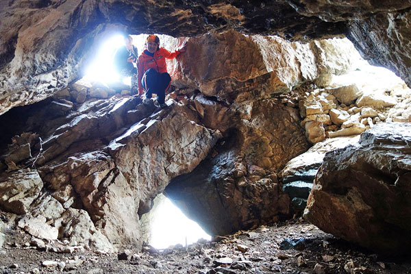 Пещеры Кунгурбуки   2015 март