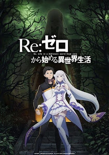 تقرير أنمي إعادة: الحياة في عالم مختلف من الصفر الموسم الثاني Re:Zero kara Hajimeru Isekai Seikatsu 2nd Season