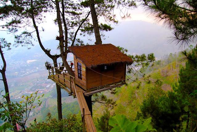 omah kayu wisata alam hits malang jawa timur