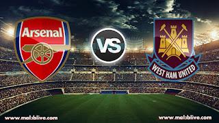 مشاهدة مباراة ارسنال ووست هام يونايتد West ham united Vs Arsenal fc بث مباشر بتاريخ 13-12-2017 الدوري الانجليزي