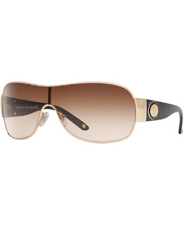 Replica Versace VE2101 Gold Brown Sunglasses