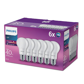 Pack de 6 bombillas Philips