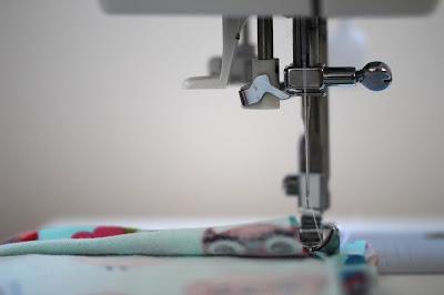 cosiendo bolsitas de tela DIY