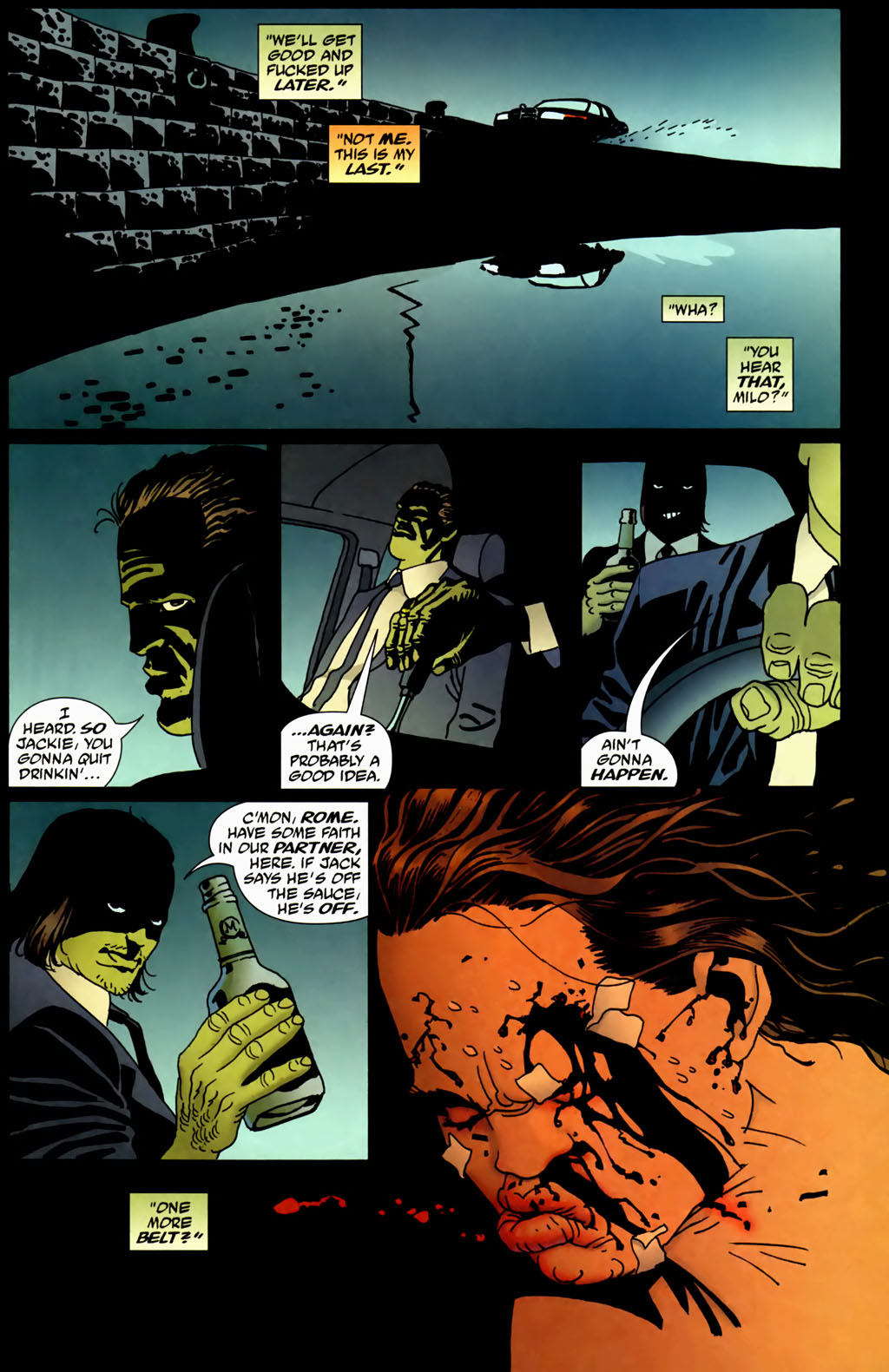 Read online 100 Bullets comic -  Issue #69 - 15