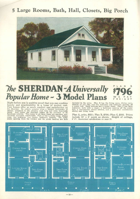 Sears Hampton lookalike Liberty Homes Sheridan