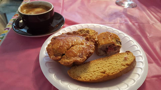 pusties, cassata, cookies, cheesecake, Italian pastry