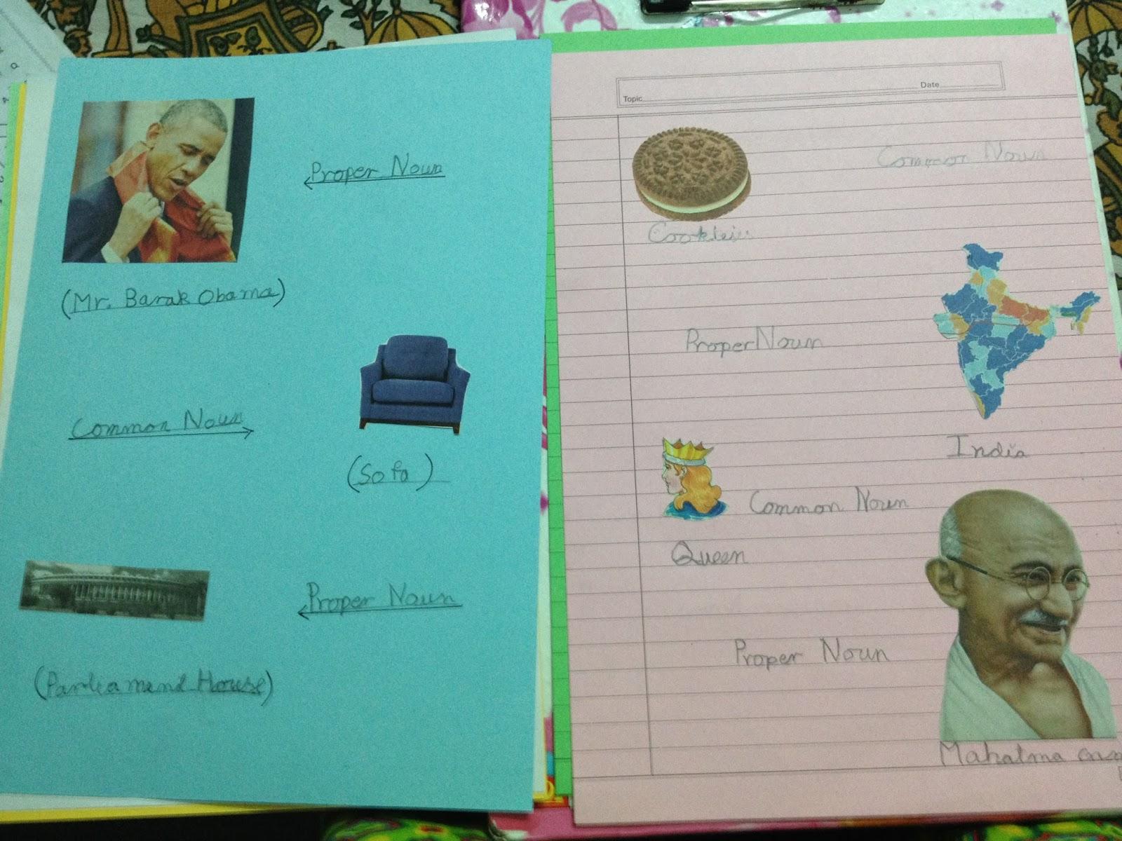 My Life As A Maa Common Noun Proper Noun Holiday Homework