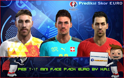 PES 2013 Mini Facepack Euro 2016 by H.R.4