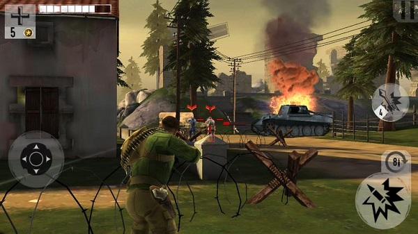 Apkmodif.com Download Brothers in Arms 3: Son of War Mod VIP Free Weapons Apk Data Chace