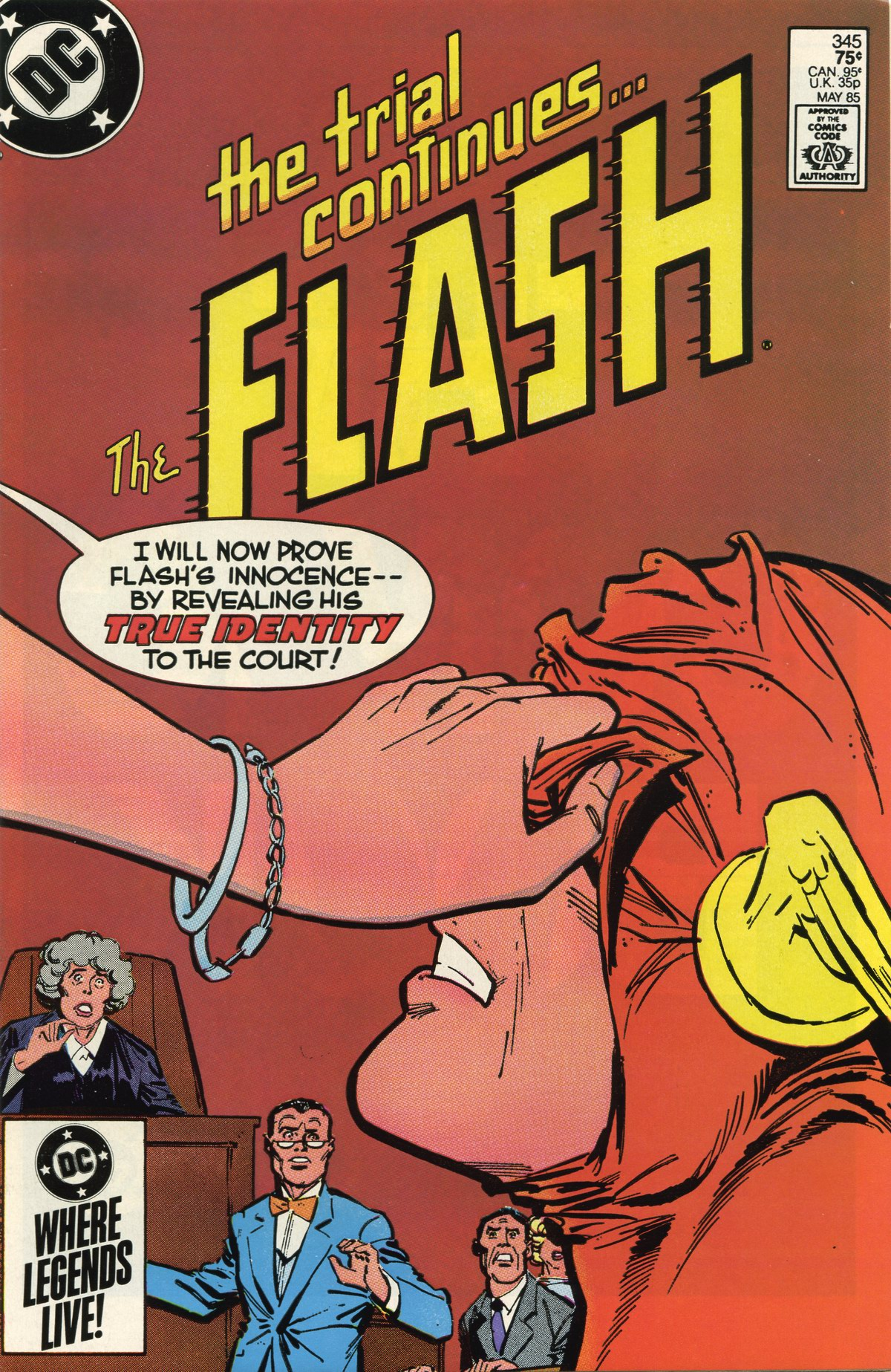 The Flash (1959) 345 Page 1