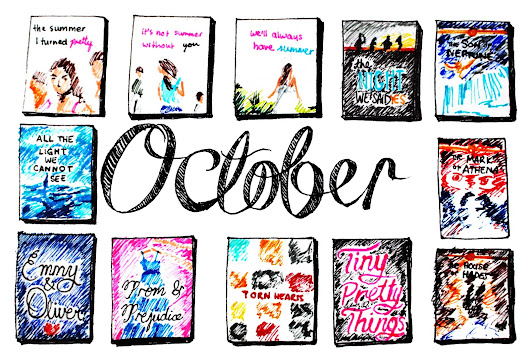 recent reads || october