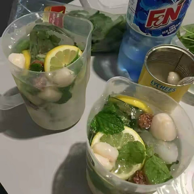 Resipi Air Laici Asam Masin Soda Yang Viral