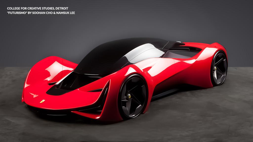 2015 Ferrari Design Concept All Concept Cars New Zealand