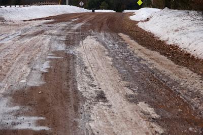 a mudluscious road