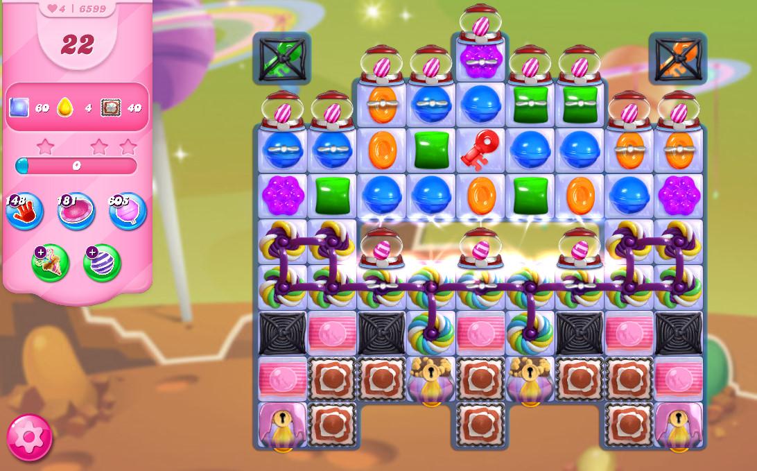 Candy Crush Saga level 6599