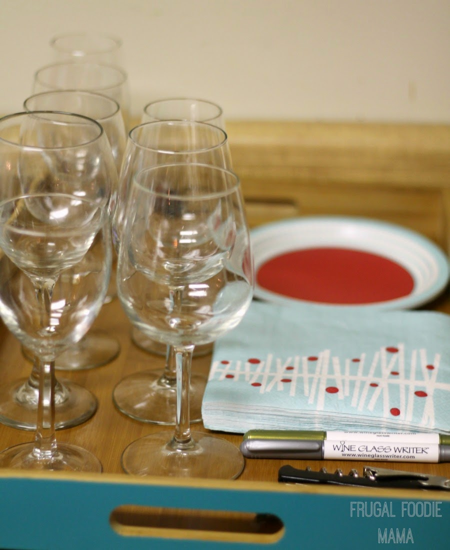 How to throw a wine tasting party on a budget #ALDIPairings