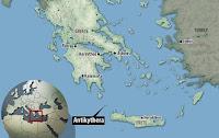 Ubicación de Antikythera