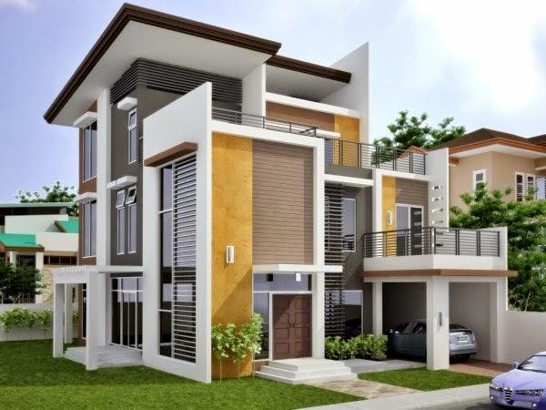 Contoh desain rumah minimalis tiga lantai yang indah dan nyaman