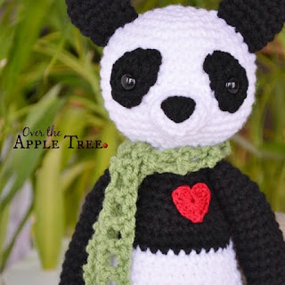 Lucky Panda by Over The Apple Tree