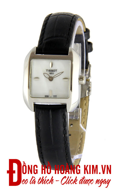 Đồng hồ nữ Tissot dây da giá rẻ dưới 2 triệu