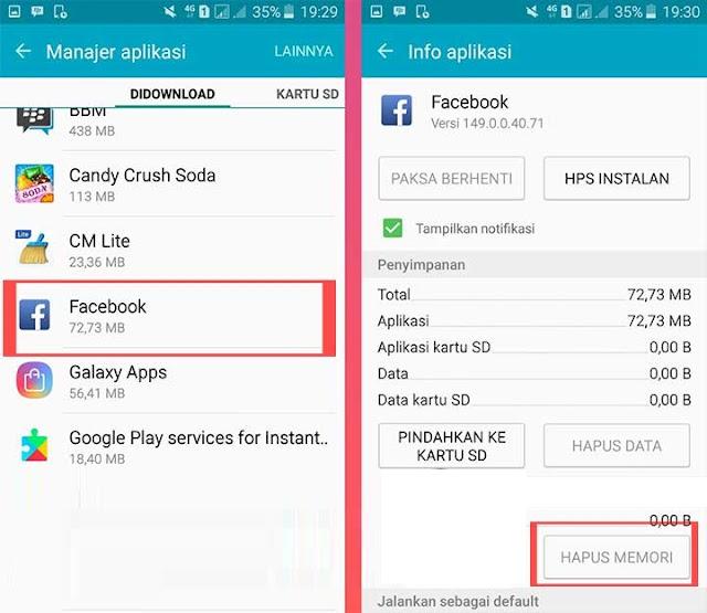 Cara Mengatasi Facebook Telah Berhenti di Android