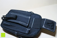 Verschluss geöffnet: Taktische Hüfttaschen , Sahara Sailor EDC Molle Tasche Nylon Gürteltasche für Wandern, Outdoor-Camping und Radfahren mit Aluminiumkarabiner