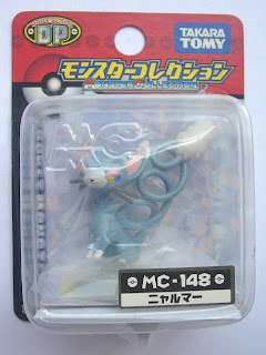 Glameow Pokemon figure Tomy Monster Collection MC series