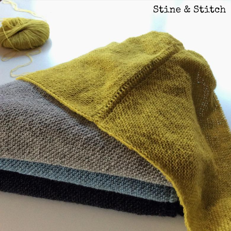 Stine stitch mein tuch hat einen namen nordwind for Moderne schals stricken
