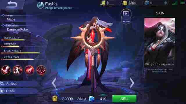 Guide Fasha Mobile Legend, Build, Skill, Ability, Set Emblem Yang Cocok, Hingga Tips Menggunakannya