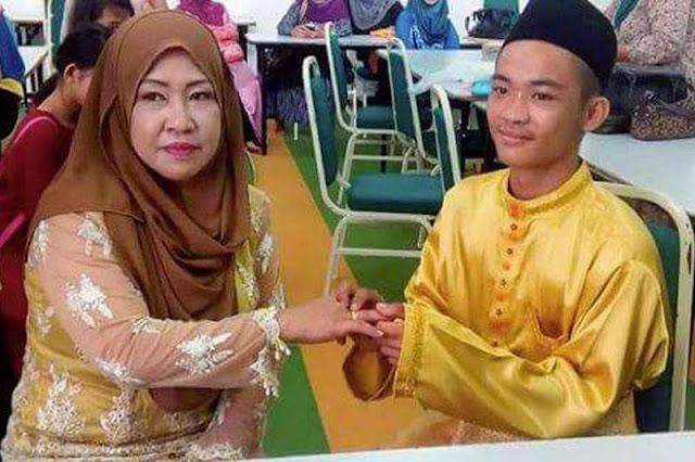 Heboh!! Pernikahan Remaja 18 Tahun dengan Wanita Beranak 5