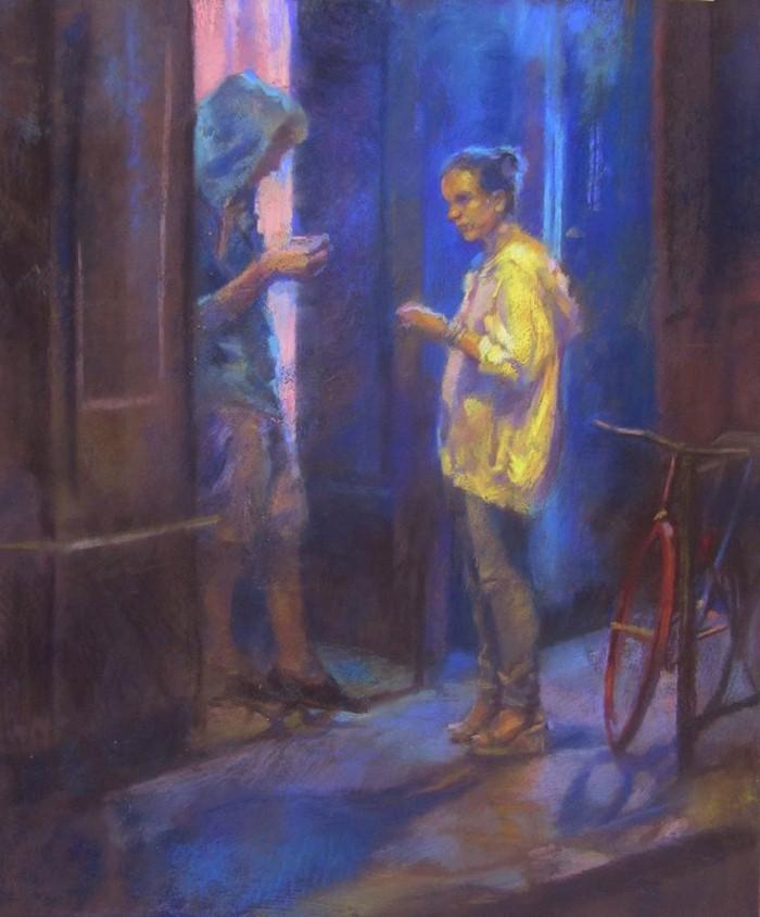 Пастельные картины. Penelope Milner