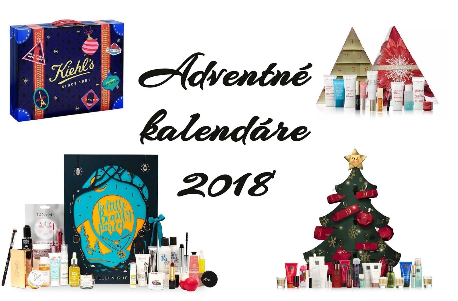 kozmetické adventné kalendáre