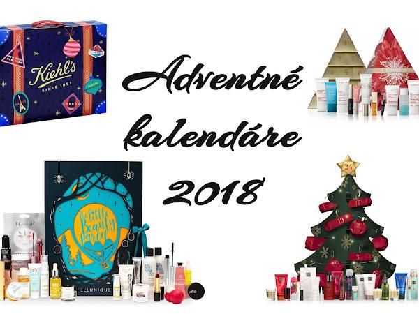 Kozmetické adventné kalendáre 2018