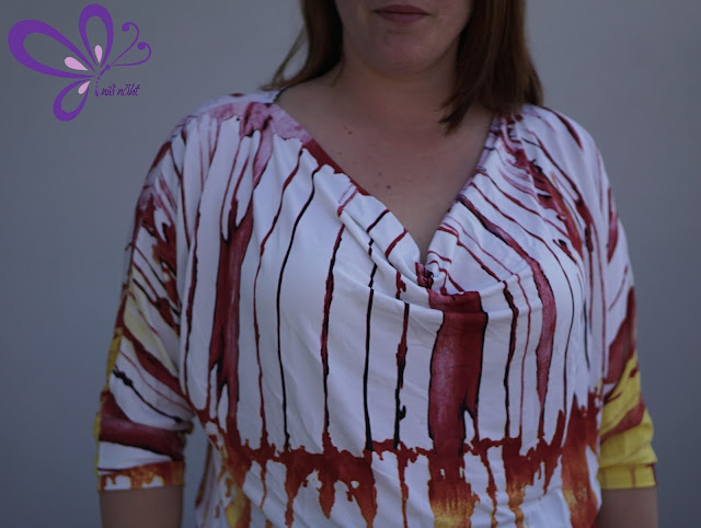 Wasserfallshirt - konfettipatterns - fancy shots