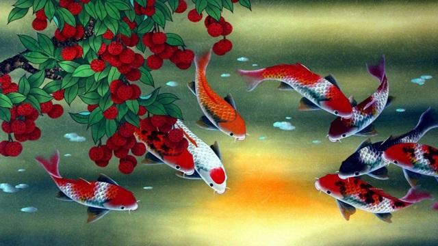 เลี้ยงปลาเสริมฮวงจุ้ย