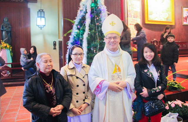 Lễ truyền chức Phó tế và Linh mục tại Giáo phận Lạng Sơn Cao Bằng 27.12.2017 - Ảnh minh hoạ 226