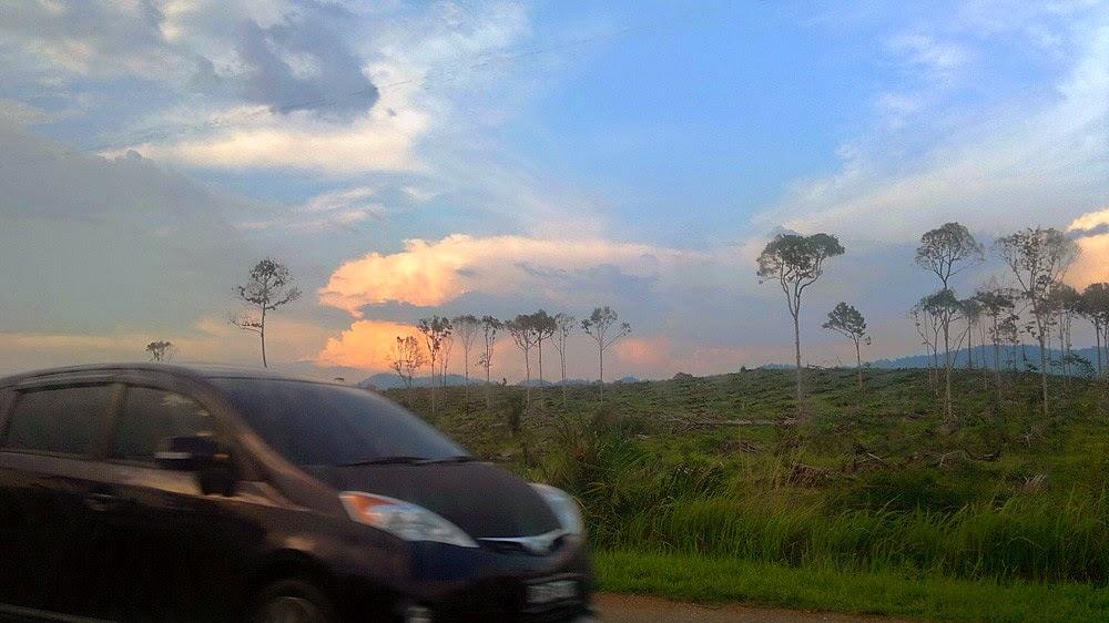 Evening at Raub, Pahang, Malaysia