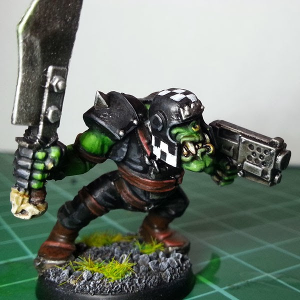 Painting Goff Orks