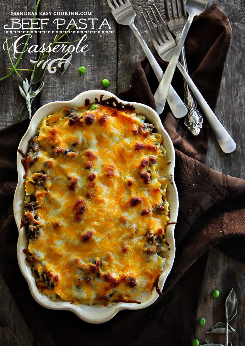 Beef Pasta Casserole {recipe}