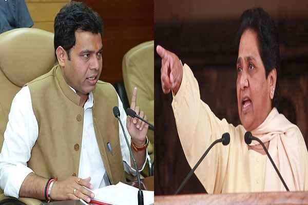 मायावती से बोले श्रीकांत शर्मा, जातिवाद की राजनीति करके लोगों को आपस में लड़ाना गन्दी बात है