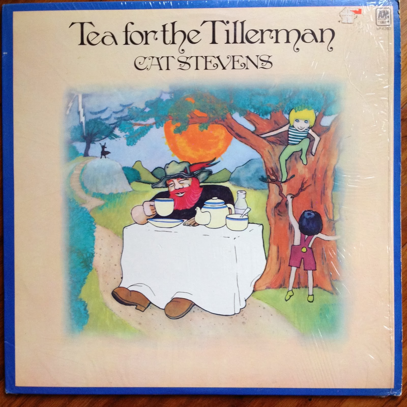 LP:  Cat Stevens, Tea for the Tillerman
