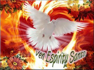 Resultado de imagen para ven espiritu santo