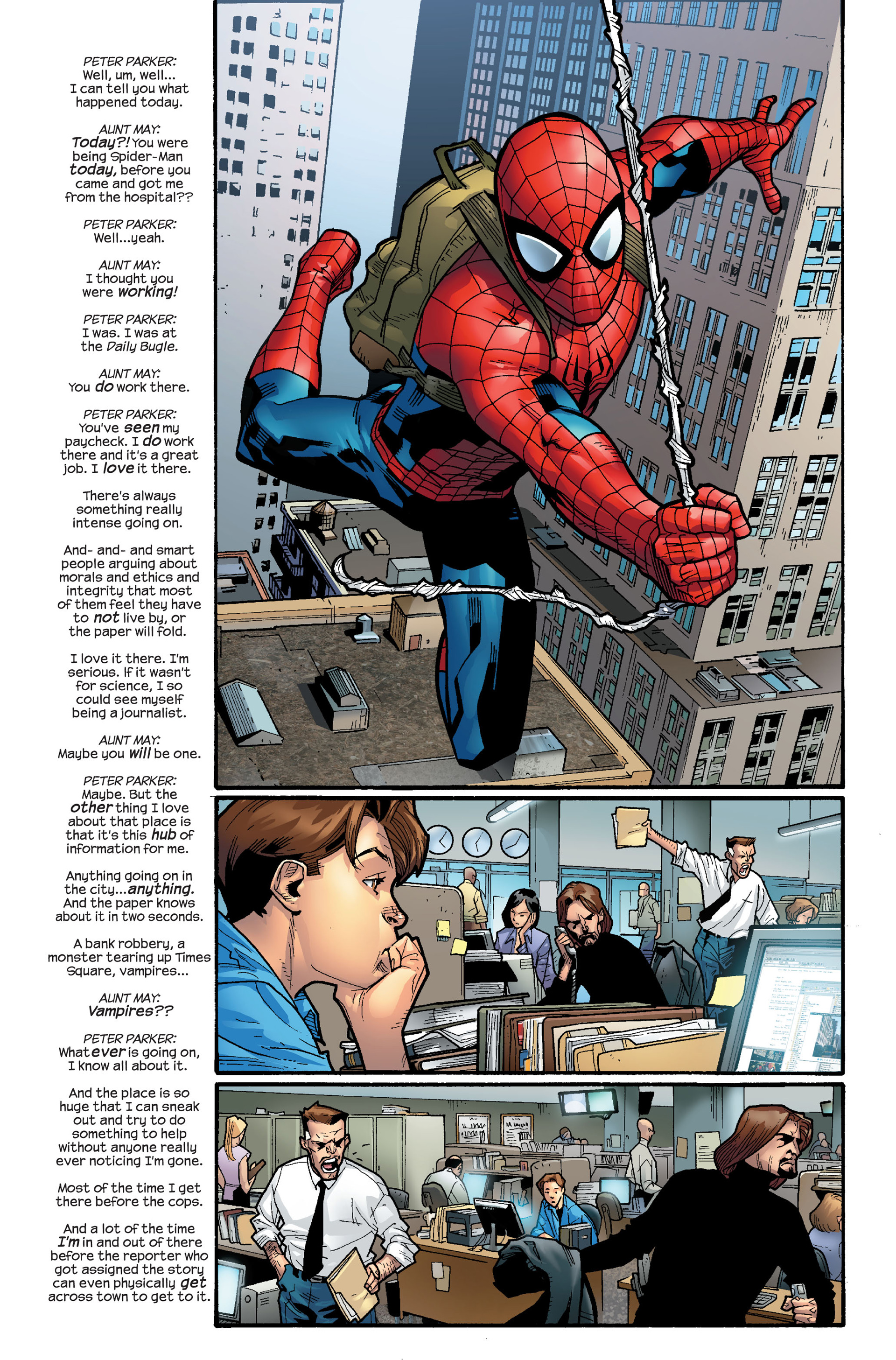 Read online Ultimate Spider-Man (2000) comic -  Issue #111 - 10