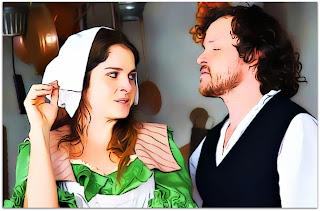 Drica Moraes e Matheus Nachtergale, em Decamerão - A Comédia do Sexo