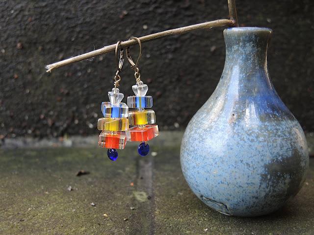 gratis diy voor oorbellen / Free diy for making your own earrings