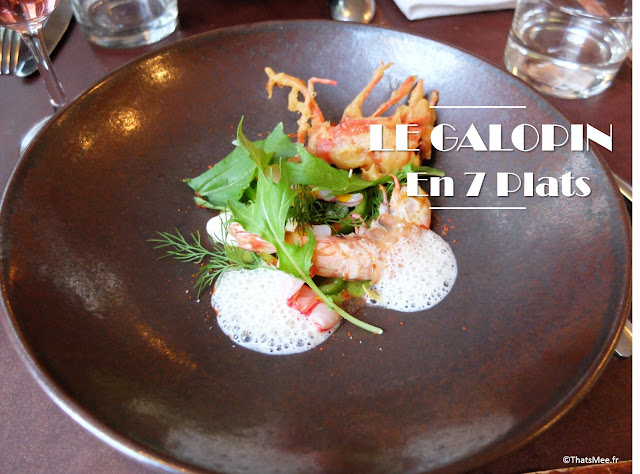 resto bistronomique menu 7 plats le galopin Paris 10eme romain tischenko top chef