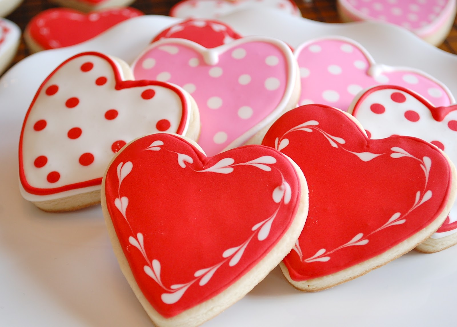 Chef Mommy Valentine S Day Heart Sugar Cookies